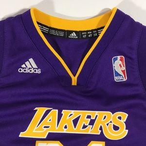 9277c22e12d adidas Shirts   Tops - LA Lakers adidas Kobe Bryant Jersey 4T Kids  24